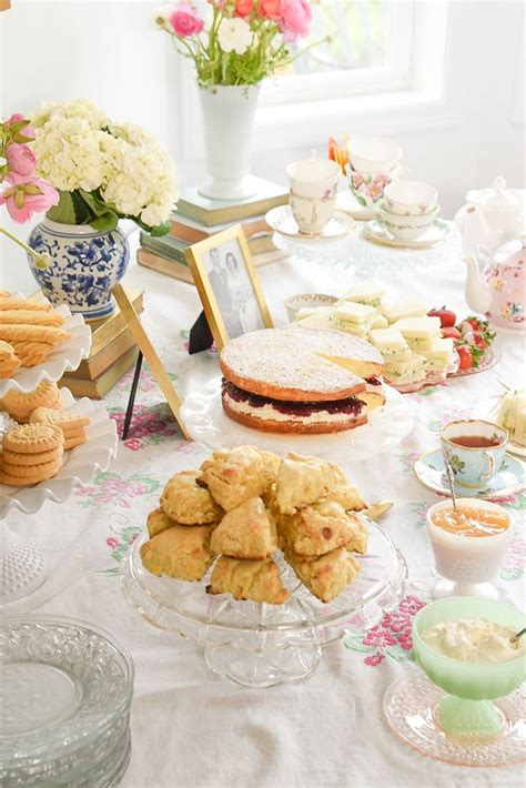 bridal shower tea menu host the tea bridal shower your homebased