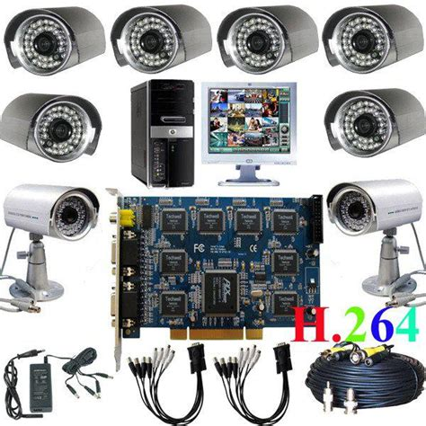 discount cctv dvr pc based card ir home security