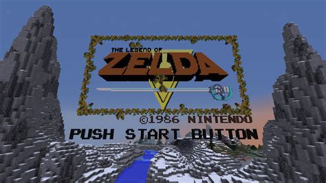 legend of zelda map for minecraft zelda minecraft all vanilla
