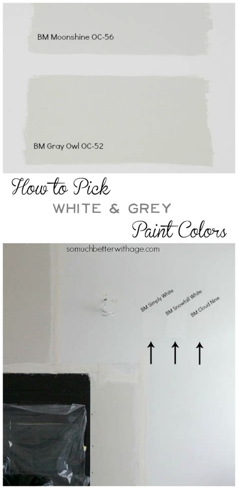 how to pick white paint benjamin moore gray owl oc 52 benjamin moore gray owl is