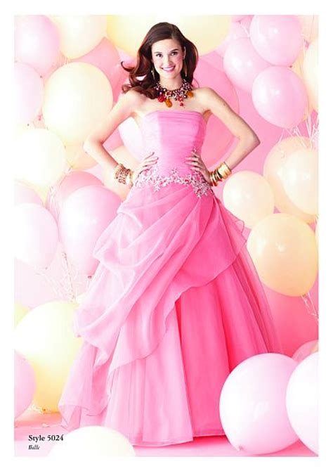 Hq 5024 Flower Dress Size S alfred angelo disney royal organza prom dress 5024