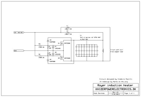 induction heating oscillator circuit royer oscillator induction heater 28 images royer oscillator diagram royer get free image