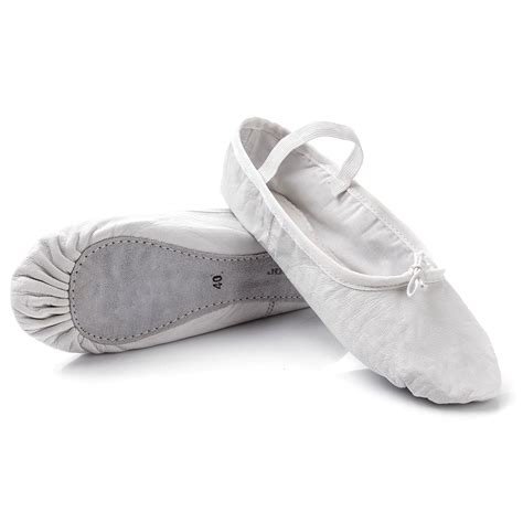 leather ballet shoes meteor white shoes balley shoes