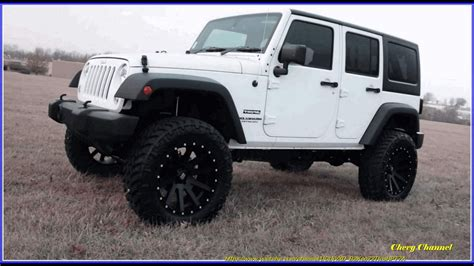 white jeep 4 door white and black jeep wrangler 4 door road 4x4s