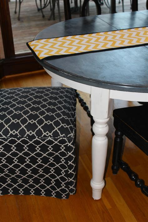 chalk paint kitchen table