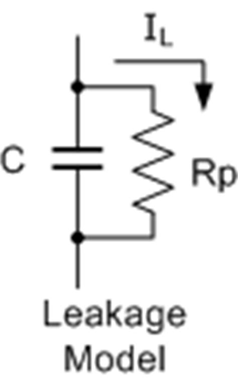 dc leakage current of capacitor capacitor characteristics and capacitor specifications