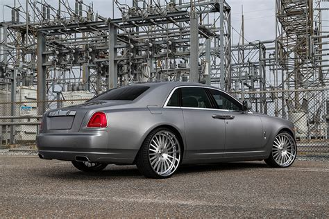 roll royce forgiato rolls royce ghost on andata brushed