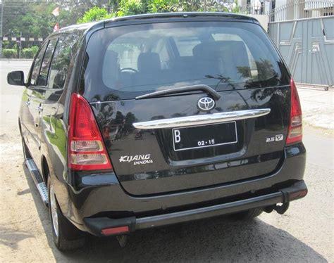 Alarm Belakang Mobil dijual toyota kijang innova v diesel 2 5 v mt 2005 hitam