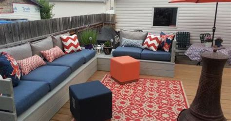 ana white patio sectional outdoor platform sectional do it yourself home projects