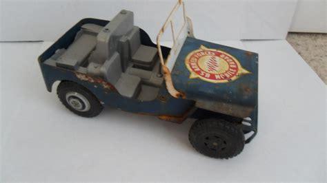 jeep toy 100 tonka army jeep vintage 1960 tonka marine