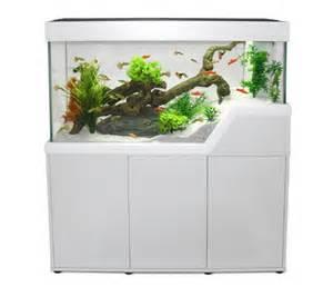 aquarium cara 239 bes 120 blanc avec meuble aquarium et meuble