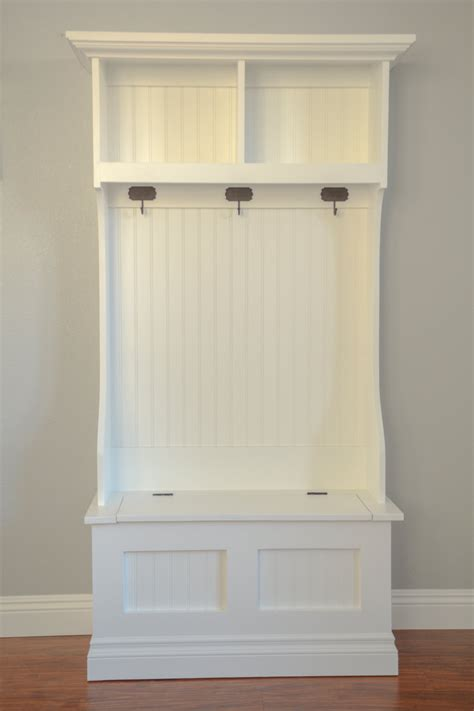 Mudroom Bench With Storage Tree Mudroom Storage Bench And Hutch Beautifully Made