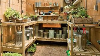 how to organize your garden shed southern living