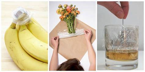 uses for plastic wrap uses for plastic wrap clingfilm alternative uses