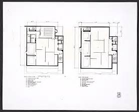 whitney museum floor plan photograph of plans for the second and third floor