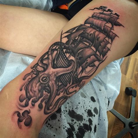 kraken tattoo 60 best kraken meaning and designs legend of the
