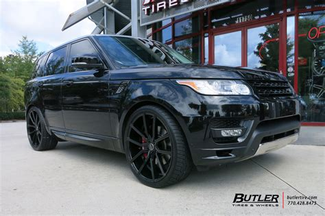 land rover range rover   lexani gravity wheels exclusively  butler tires  wheels
