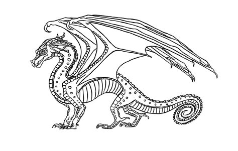 wings of fire nightwing coloring pages more information