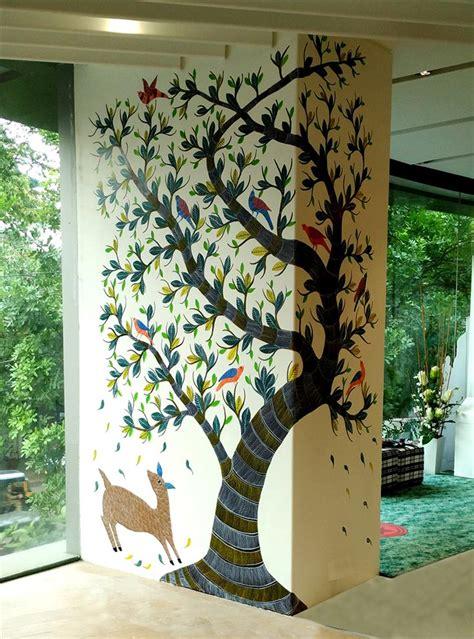 asian paints gond tree  life  shibani