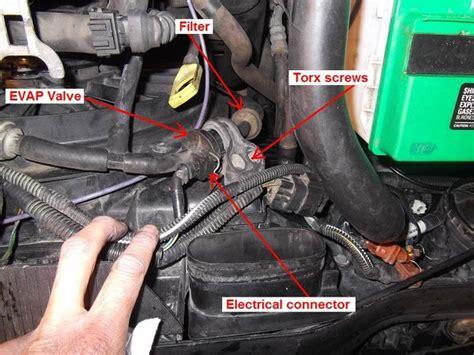 test  repair  evap valve page