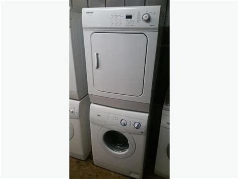 Apartment Size Washer And Dryer Sets 24 Quot Wide Apartment Sized Stackable Washer Dryer Set