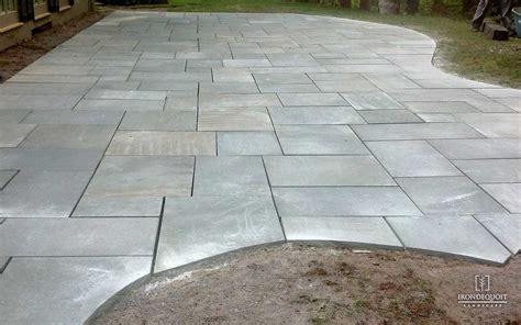 change color of sted concrete patio pavers vs concrete