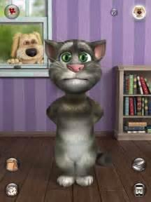Ipad apps talking tom cat 2 speech in action