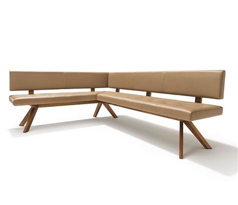 brown leather dining bench luxury leather dining bench team 7 yps wharfside