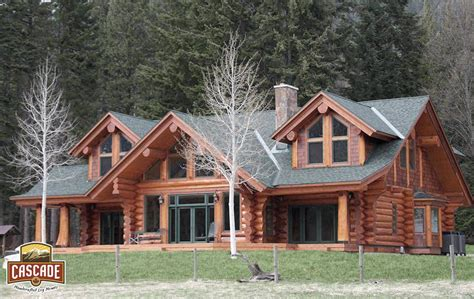 how much is 3000 square feet log homes cascade handcrafted log homes custom design