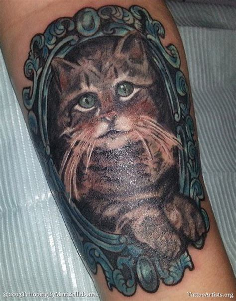 cat portrait tattoo cat portrait view 1 artists org