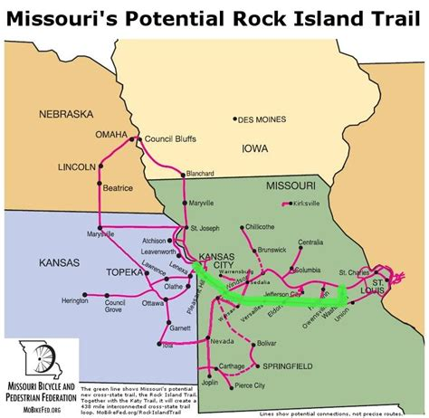 missouri bicycle map federal transportation budget could threaten