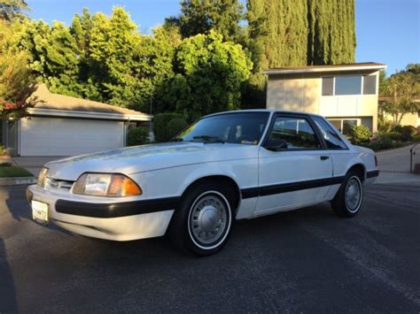 1991 ford mustang notchback low mile for sale ford mustang coupe 1991 for sale in panorama