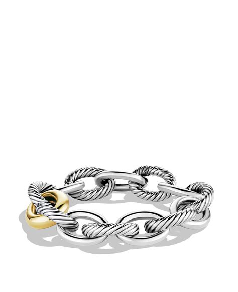 large link chain for jewelry david yurman oval chain large link bracelet with
