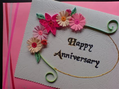 Anniversary Cards Handmade - chami crafts handmade greeting cards birthday card
