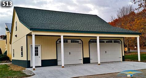 Garage Overhang Custom Garage Custom Garage Plan Horizon Structures