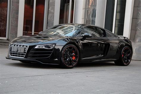 audi r8 blacked out audi r8 hyper black edition by anderson germany