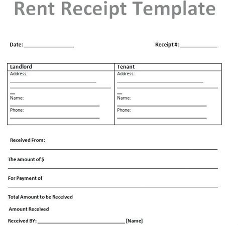 Free Rent Receipt Template India by Free Rent Receipt Template Lphifhui Org