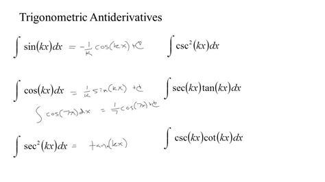 ma4 sin kx sin x youtube 4 8 2 some trigonometric antiderivatives youtube