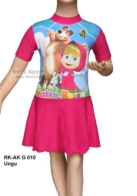 Baju Selam Anak Baju Renang Superman Pakaian Renang baju renang anak diving rok rk ak g 010 ungu distributor dan toko jual baju renang celana