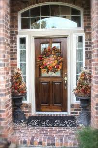 decorate front porch for fall picture of fall front porch decorating ideas