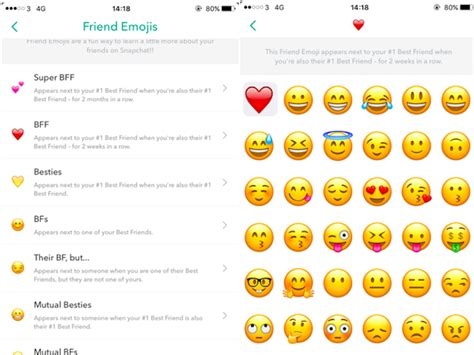 why can t i see emojis on my android what snapchat friend emoji business insider