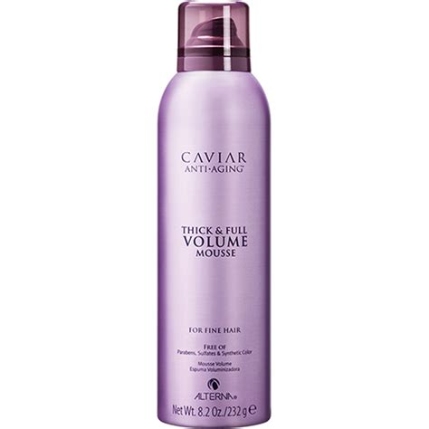 full volume hair alterna caviar thick full volume hair mousse 232g free