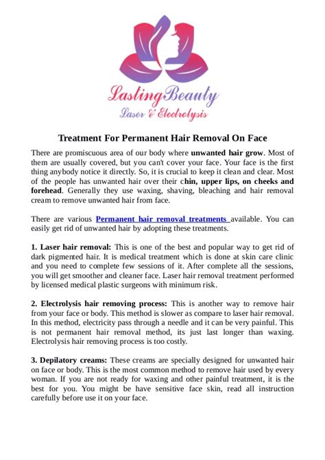 Laser Hair Removal Waterloo Kitchener by Laser Therapy Kitchener Treatment For Permanent Hair