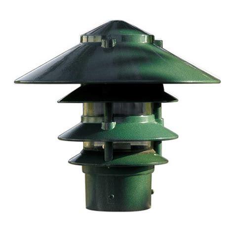Pagoda Landscape Lights Filament Design Corbin 1 Light Green 4 Tier Outdoor Pagoda Pathway Light Cli Dbm6036 The Home