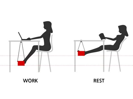 most comfortable sitting position desk hammock is a comfy suspended spot for your feet