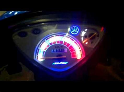 Led Motor Mio speedometer led mio smile 8 mode effect s