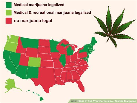 marijuana no longer a 4 3 ways to tell your parents you smoke marijuana wikihow