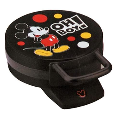 mickey mouse kitchen appliances disney dcm 32 mickey mouse waffle maker black home garden kitchen dining kitchen appliances