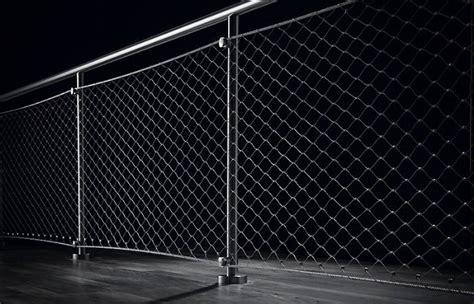 ringhiera metallica rete metallica inox per recinzione e parapetti bologna