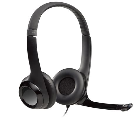 Headset Logitech H390 logitech h390 usb headset with noise cancelling mic